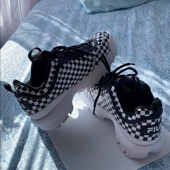 Fila Shoes   Fila Disruptor Ii Checker